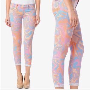 NEW • Hudson • Harkin Mid Rise Skinny Crop Jeans
